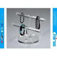 Wholesale Necklace Double T-Bar Acrylic Display Holders for Retail Stores from china suppliers