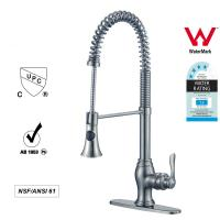 Wholesale Sanitary Ware Singe Handle kitchen Faucet with Pull out Tap ODM / OEM from china suppliers