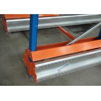 Quality Multi Deep Shuttle Storage Pallet Racks 2 Aisles With 400W Travelling Motor for sale