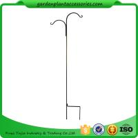 Wholesale Tall Garden Plant Accessories 48 Inch Double Shepherd'S Hook Plant Hanger from china suppliers
