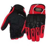 Wholesale Women Motorcycle Gloves Sport Racing Leather Riding Gloves With Reflective Stripe from china suppliers
