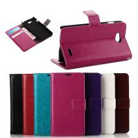 Quality Flip PU Leather Case Mobile Phone Accessories for LG with Card Pouch for sale