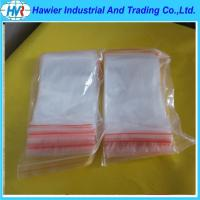 Free sample double track soft plastic transparent moisture proof zip lock vegetable bag