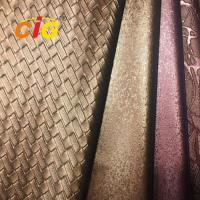 Wholesale Decorative Soft Guality Polyurethane Pu PVC Leather For Sofa Car Seat Cover from china suppliers