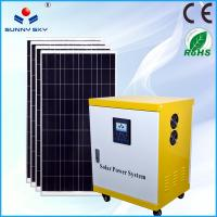 Wholesale off-grid 5kw home solar system solar generator 5000 watt whole house solar power system from china suppliers