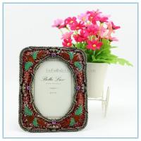 Wholesale Shinny Gifts natural metal photo frame for presents from china suppliers