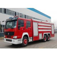 Wholesale 20CBM LHD 6X4 Fire Fighting Truck , Emergency Foam Fire Rescue Trucks from china suppliers