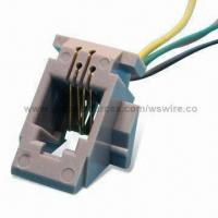 Wholesale 616W Leaded RJ45 Female Jack Plug to DB9/USB/RJ11/RJ12/RS232 Male Connector Patch Cable with 4P4C from china suppliers
