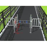 Wholesale Intelligent access management pillar swing gate turnstile for public areas from china suppliers