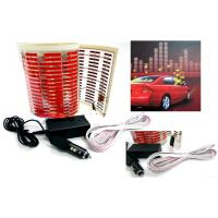 Wholesale Red Color EL Car Sticker Equalizer from china suppliers