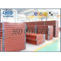 Quality Red painted ND or Carbon Steel exported Thailand economizer HRSG heat recovery steam generator boiler for sale