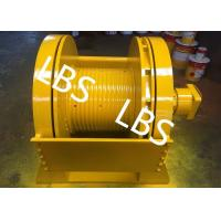 Wholesale Single Drum Marine Hydraulic Winch , Windlass Mooring Winch BV ISO Standard from china suppliers