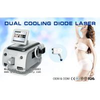 Wholesale Portable 808nm Diode Laser Hair Removal Machine , Cooling Hair Removal Laser Device from china suppliers
