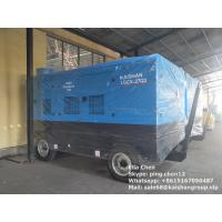 Quality Diesel Engine Direct Driven Mobile Double Stage Portable Screw Air Compressor for sale