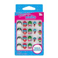 Wholesale Big Googly Eyes Cartoon Fake Nails Lovely 3D Full Cover Nails For Kids from china suppliers