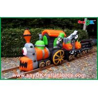 Wholesale 6m OXFord Cloth Inflatable Holiday Decorations Halloween Train For Fun ROHS from china suppliers