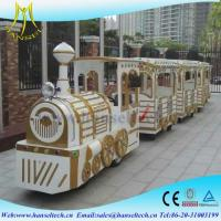 Wholesale Hansel 2018 luxury design cheap amusement park rides trackless train,mini electric tourist train rides for sale from china suppliers