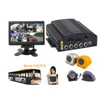 Wholesale Hybrid Four - In - One HD Mobile DVR 4CH 720P For Buses , HD Vehicle DVR from china suppliers