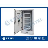 Wholesale Dustproof  Rainproof Outdoor Battery Cabinet , Outside Base Station Cabinet from china suppliers