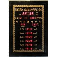 Wholesale Digital azan wall clock for 1000 cities /Pray clock/ Muslim Azan clock from china suppliers