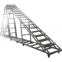 Wholesale Splice / Burliness Aluminum Walking Stair , Portable Stage Platform For Art House from china suppliers