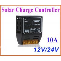 Wholesale 10A 12V/24V Solar Charge Controller Solar Panel Battery Regulator Safe Protection from china suppliers