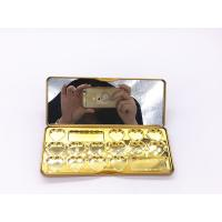 Quality 188x78x18mm Rectangle Printed Customized Popula Perfume Tin Box,Cosmetic Tin Box With Mirror for sale