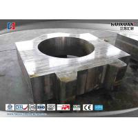 Quality Alloy Steel Bearing Pedestal ST52.3 Stainless Steel Forging Turntable Bearing Pedestal for sale