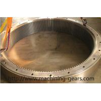 Wholesale Textile Machinery Large Diameter Gears Brushing Big Internal Tooth Gear from china suppliers