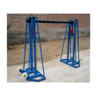 Buy cheap 10 Ton Cable jack stand,Cable Drum Stand,Hydraulic Cable Stand for Cable Stringing from wholesalers