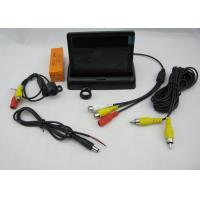 Vehicle Car Rear View Camera System With 4.3 Inch Digital Panel Pop up Monitor