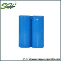 Wholesale Blue 26650 E Cig Battery 3500mah For Vapor Mod , High Energy Density from china suppliers