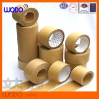 Wholesale high quality adhesive kraft packing tape, kraft tape from china suppliers