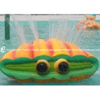 Wholesale Fiberglass Water Playground Equipment Spray Shell Aqua Play For Amusement Park from china suppliers