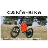 Wholesale High Power Zero - Emission Fastest Off Road Electric Bike , Off Road Electric Bicycle from china suppliers