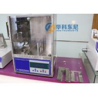 Wholesale Electronic Automatic 45 Degree Flammability Textile Testing Machinery from china suppliers