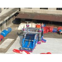 Wholesale 0.55mm PVC Tarpaulin Inflatable Bounce House Slide Combo For Kids from china suppliers