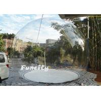 Wholesale 0.8MM / 0.6MM PVC Inflatable Bubble Tent from china suppliers