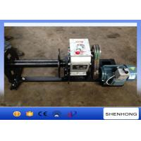 Wholesale 220 Voltage Electric Cable Pulling Winch / Cable Drum Winch Stringing Equipment from china suppliers
