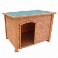 Buy cheap Dog Kennel, Made of Chinese Fir Wood, Different Sizes to Choose from wholesalers