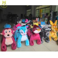 Wholesale Hansel High Quality Hot Selling Coin Operated Zoo Animal Rides Plush Motorized Animal Rides Animal Scooters in mall from china suppliers