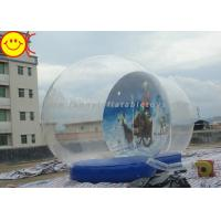 Wholesale Outdoor Decoration Christmas Inflatable Advertising Snow Globe from china suppliers