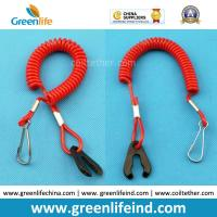 Wholesale Extendable Strap Customized Jet Ski Safety Hand Coiled Tool Lanyard from china suppliers