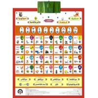 Wholesale Customized muslim children learning Arabic Alphabet Chart for  word, Quran, song from china suppliers
