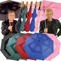 Wholesale Windproof Umbrella Push Button Automatic Double Canopy Pink Black Ladies Mens umbrella from china suppliers