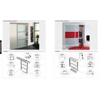 Wholesale 6063 T5 Matt aluminum wardrobe profile, wardrobe profile,SS brush aluminum profile from china suppliers