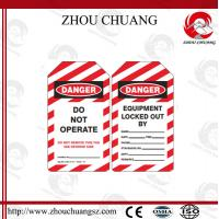 Wholesale Lockout Devices Electronic Lock Tag Label Printing Sticker Locks from china suppliers