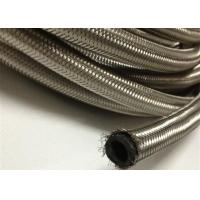 Wholesale AN4  / AN 6 Braided Rubber Fuel Hose for Automotive , Stainless Steel Outer from china suppliers