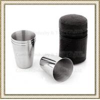 Wholesale 1-15oz Stainless Steel Whiskey Shot Glasses Set from china suppliers