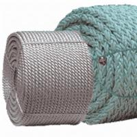 Wholesale White Braided Polyester Rope Chemical Resistance Customized Length from china suppliers